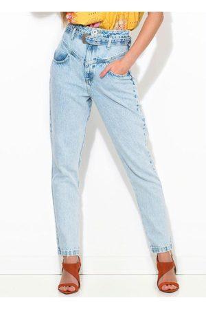 Colcci Mulher Calça Jeans Camila com Cinto
