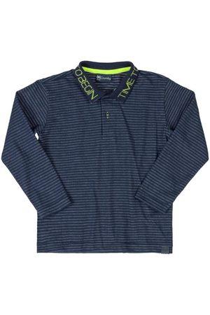 Quimby Camisa Infantil Polo Listrada