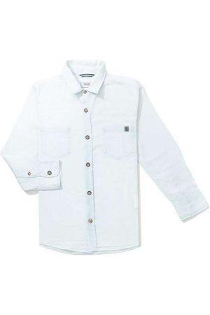 Reserva Mini Menino Camisa Manga Comprida - Camisa Mini Pf Ft Flanela Xadrez Acento Reserva Mi