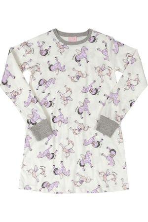 Quimby Menina Pijamas - Camisola Infantil Unicórnios