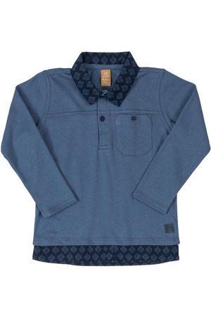 Up Baby Camisa Polo em com Bolso
