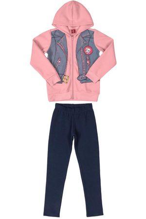 Bee Loop Menina Conjuntos - Conjunto Infantil Fake Vest