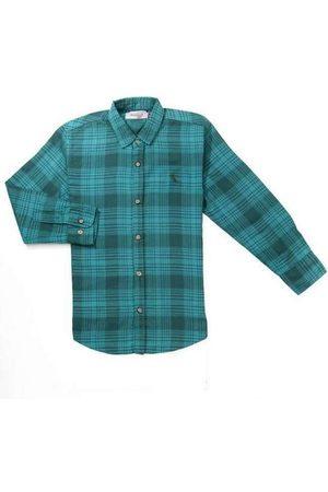 Reserva Mini Camisa Mini Pf Ft Xadrez Bicolor Verd