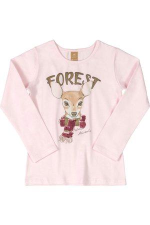 Up Baby Blusa Manga Longa Forest