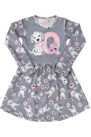 Quimby Menina Vestidos - Vestido Infantil Dálmata