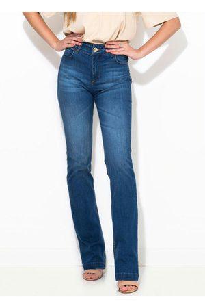 Colcci Mulher Calça Jeans Reta - Calça Jeans Bia Reta