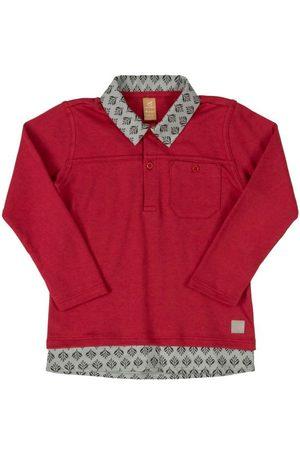 Up Baby Camisa Polo com Bolso