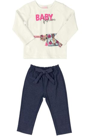 Quimby Bebê Conjuntos - Conjunto Infantil Baby Fashion