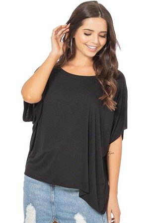 Up Close Mulher Camiseta - Blusa Feminina Lisa