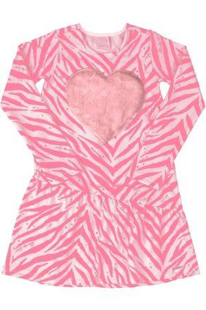 Quimby Vestido Infantil Animal Print
