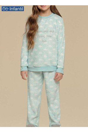Cor Com Amor Pijama 67322 Infantil Nuvens