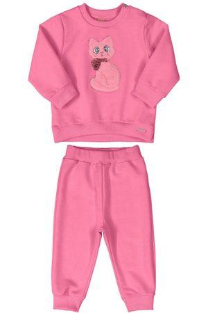 Up Baby Conjunto Blusão com Bordado e Calça