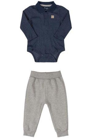 Quimby Conjunto Bebê Body Polo e Calça