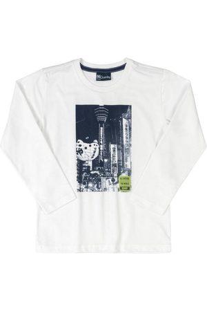 Quimby Camiseta Infantil Manga Longa