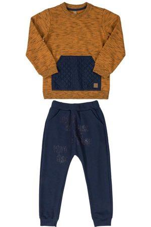 Up Baby Conjunto Blusão e Calça Estampada