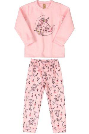 Up Baby Menina Pijamas - Pijama Infantil Unicórnio Microsoft