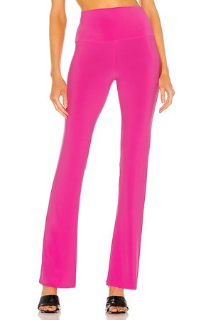 Norma Kamali X REVOLVE Boot Pant in Pink. - size L (also in M, S, XS)