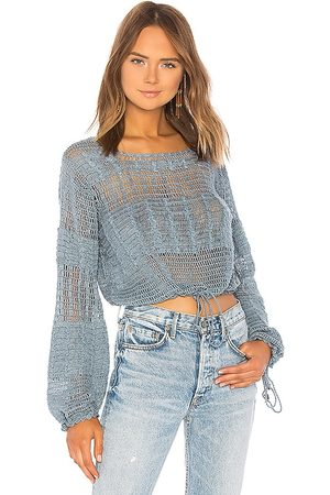 Tularosa Willow Pullover in Blue. - size XS (also in XXS)