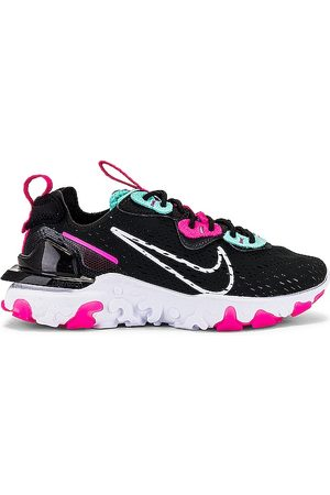 Nike NSW React Vision Sneaker in Black. - size 10 (also in 10.5, 11, 12, 5, 5.5, 6, 6.5, 7, 7.5, 8, 8.5, 9, 9.5)