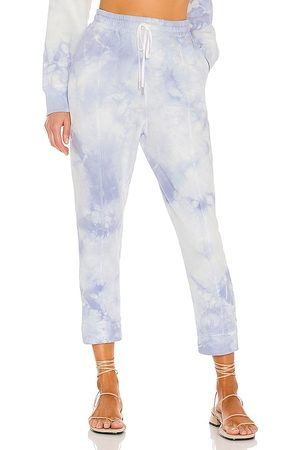 JONATHAN SIMKHAI STANDARD Rikki Sweatpant in Blue. - size L (also in M, S, XS)