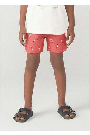 Hering Menino Short - Shorts Infantil Menino Estampado Kids Verme