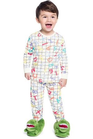 Brandili Pijama Infantil Menino Off White