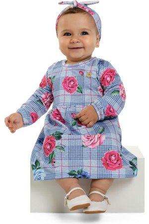 Quimby Vestido Infantil e Faixa de Cabelo