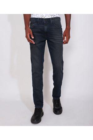 AL Contemporâneo Calça Jeans Masculina Skinny Escuro
