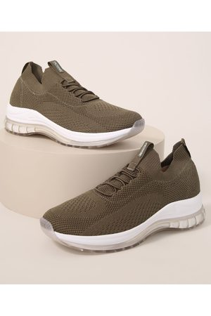 MODARE Mulher Sapatos Esporte - Tênis Feminino Knit Esportivo