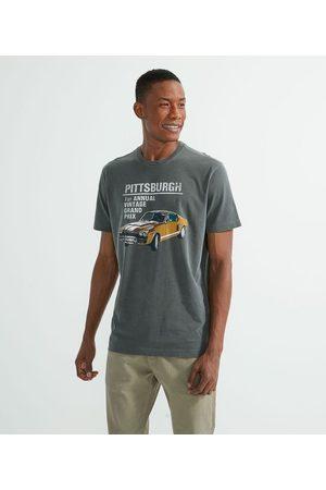 Marfinno Camiseta Comfort com Estampa Carro | | | G