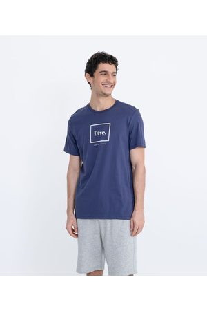Ripping Homem Camisolas de Manga Curta - Camiseta com Estampa Dive | | | GG
