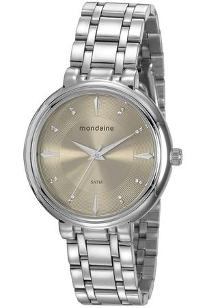 Mondaine Mulher Pulseiras - Kit Relógio Feminino 76758l0mvne3kb Analógico 5ATM + Semijoia | | U