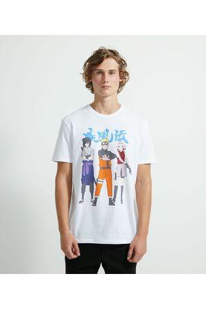 Naruto Homem Camisolas de Manga Curta - Camiseta com Estampa | | | GG
