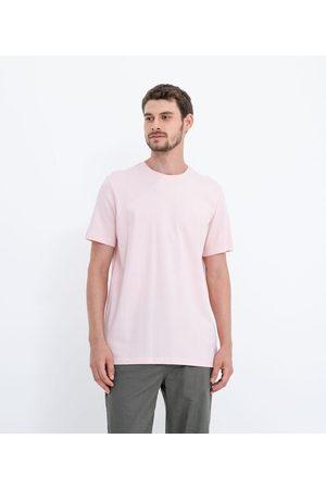 Marfinno Camiseta Manga Curta Lisa com Textura em Algodão Peruano | | | GG