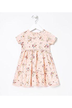 Póim (1 a 5 anos) Vestido Infantil Floral com Redinha - Tam 1 a 5 anos | | | 04