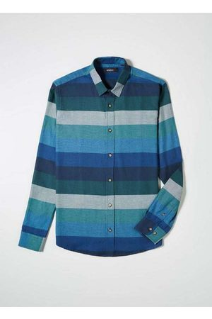 Reserva Homem Camisa Casual - Camisa Ft Listrado Largo Gradiente