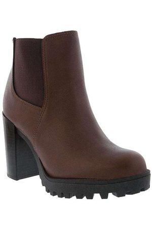 Moleca Bota Chelsea Boots Salto Bloco 53251