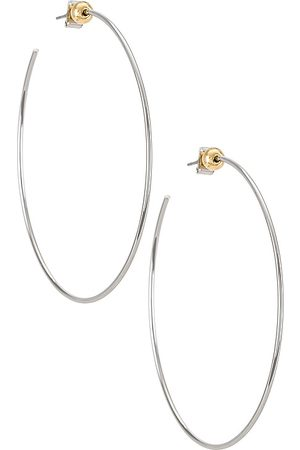 Jenny Mulher Anéis - Icon Hoops in Metallic .