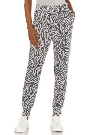 1. STATE Chic Zebra Jogger in Grey. - size L (also in M, S, XL, XS, XXS)