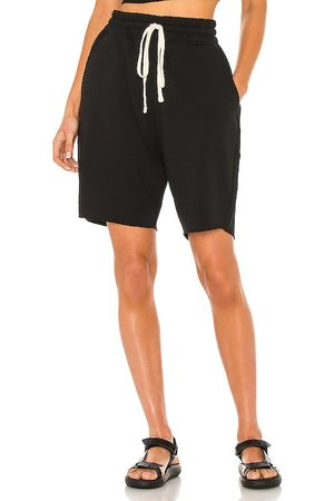 AllSaints Helix Sweatshorts in Black. - size L (also in M, S, XL)