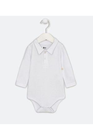 Teddy Boom (0 a 18 meses) Criança Body - Body Infantil Polo Liso - Tam 0 a 18 meses       9-12M
