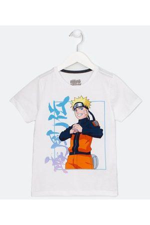 Naruto Criança Camisolas de Manga Curta - Camiseta Infantil em Algodão - Tam 5 a 14 anos | | | 11-12