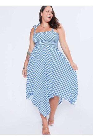 Tal Qual Vestido Almaria Plus Size Midi