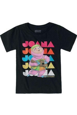 Lilica Ripilica Blusas de Manga Curta - Camiseta Mundo Ripilica Infantil - 10112119i