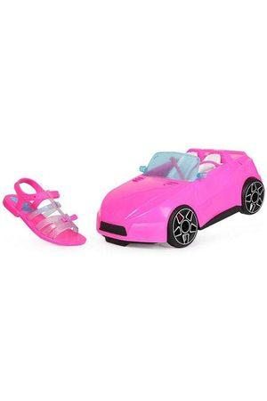 Grendene Menina Sandálias - Sandália Infantil Laço Barbie Pink