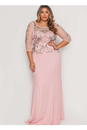 Pianeta Mulher Vestido de Festa - Vestido Almaria Plus Size Longo Tule