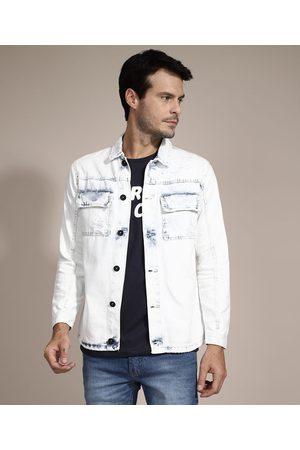 Clockhouse Jaqueta Comfort Jeans com Bolsos Claro
