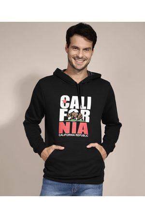 """Suncoast Homem Casacos - Blusão de Moletom Califórnia"""" com Capuz """""""