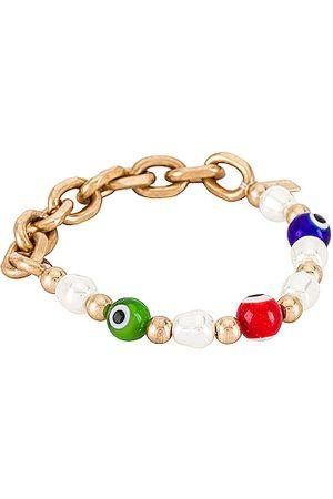 8 Other Reasons Pulseiras - Stretch Bracelet in Metallic .