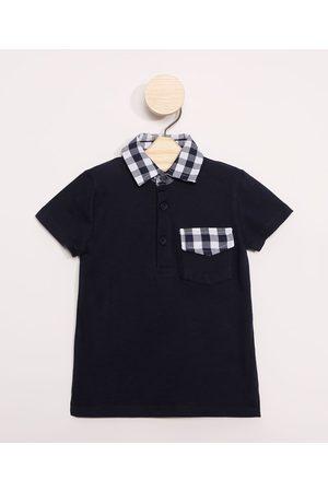BABY CLUB Menino Camisa Pólo - Polo Infantil com Bolso Manga Curta